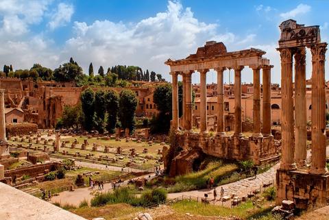 citytrip rome forum Romanum