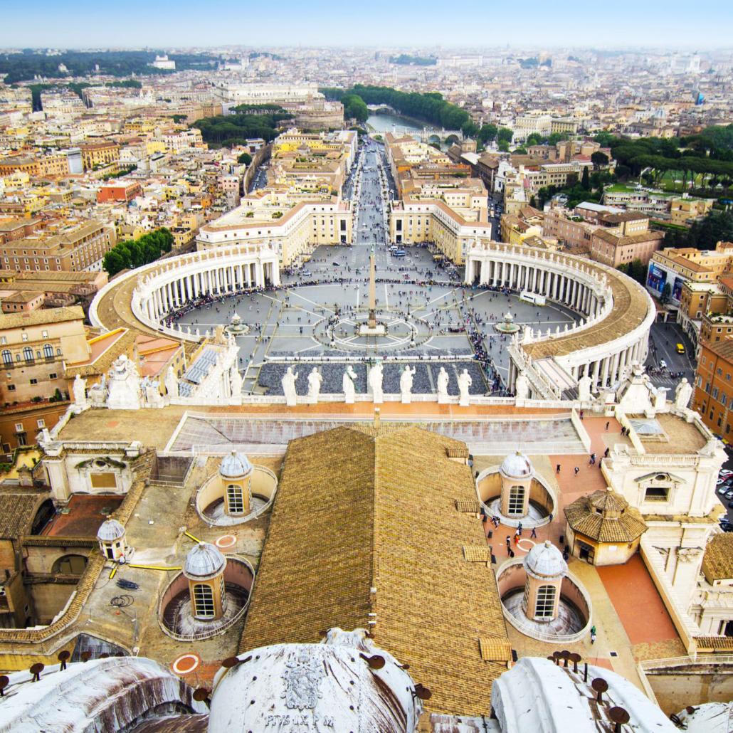 city trip rome vaticaanstad bijgesneden