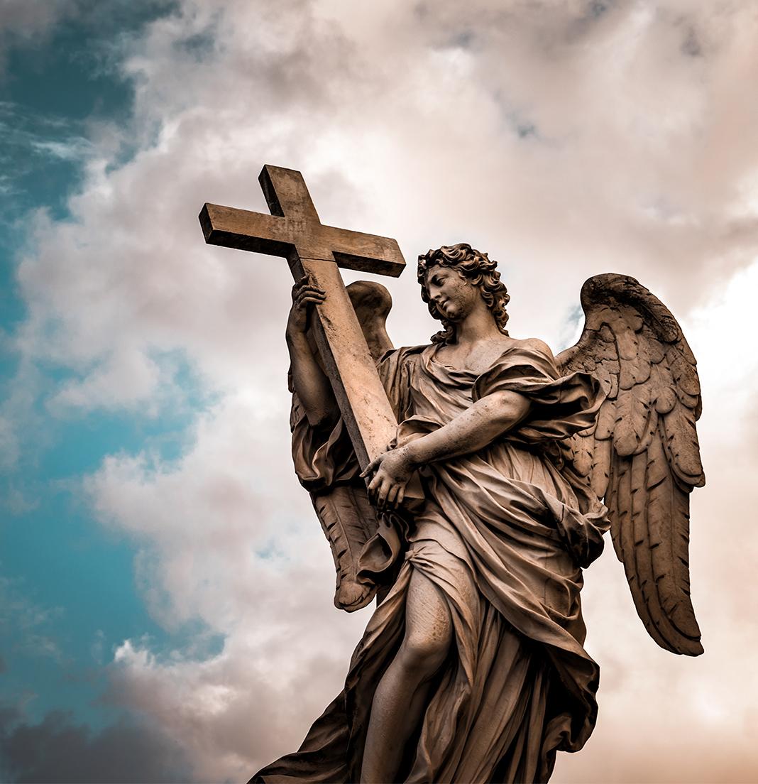 citytrip rome musem standbeeld