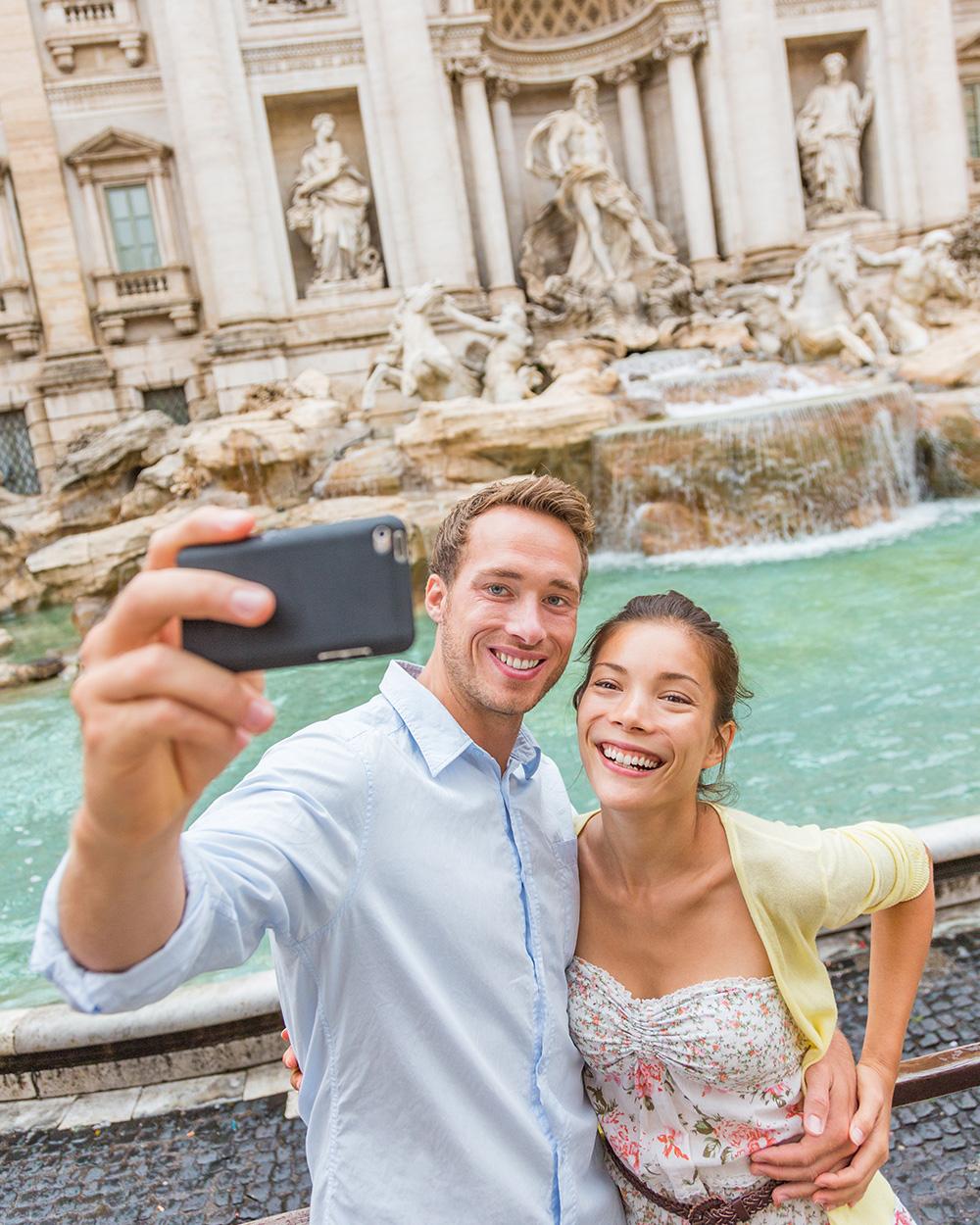 trevi fontein citytrip rome bijgesneden